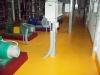 CHUPV Kladno nátěr podlahy 2011